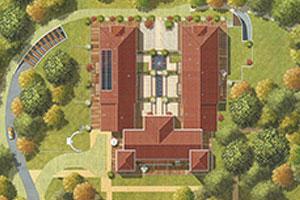 Chateau de l'Armurier Colomiers plan