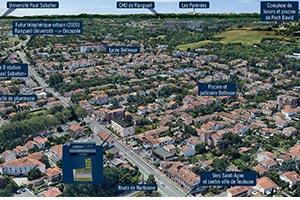 L'Absolu Toulouse plan