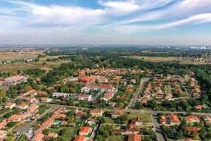 Résidence Azeria Toulouse saint Simon plan
