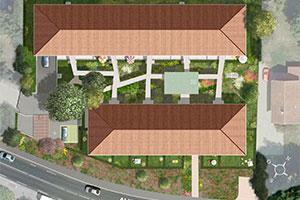 Square Saint-Jean plan