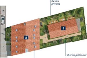 Villa Patricia Toulouse plan