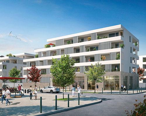 logement neuf Les Maraîchers Toulouse