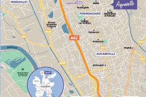 Aquarelle Fonbeauzard Plan