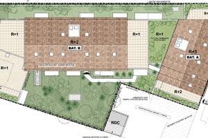 Jardins Castel Castelginest plan