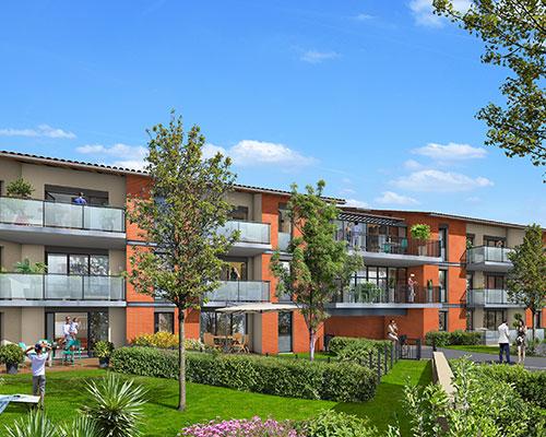 Programme Immobilier Central Place Castanet-Tolosan