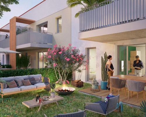 Programme Immobilier Esprit Gakoa Castelginest