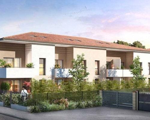 Programme Immobilier Les Jardins Mimosa Fonbeauzard