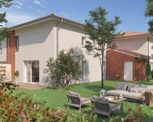 Programme Immobilier Les Villas Bleuet Saint Orens