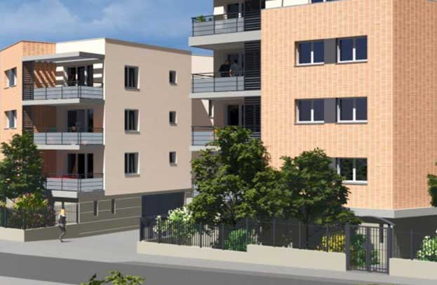 Appartement neuf Carre 112 Toulouse