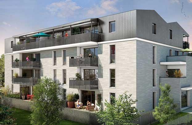 Appartement neuf Esprit Minimes Toulouse