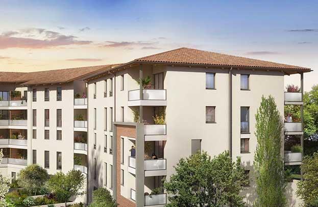 Appartement neuf L'Intermède Castanet Tolosan
