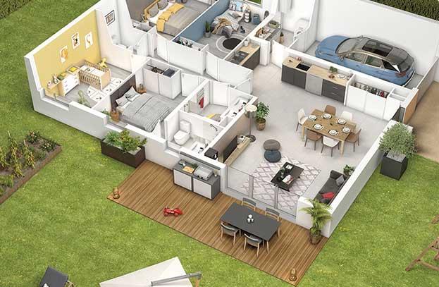 Appartement neuf Résidence Vilanova Aussonne