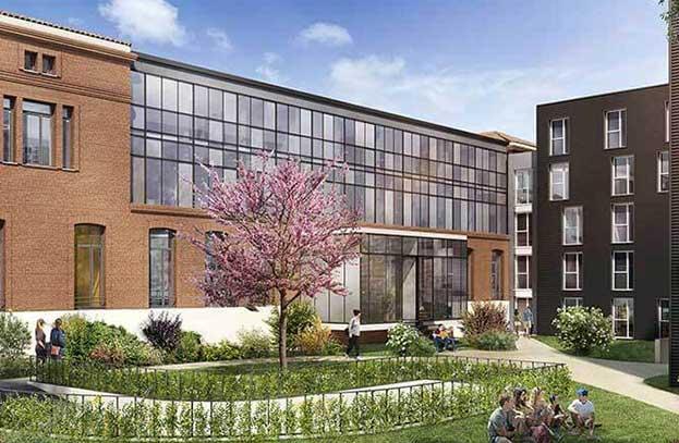 Appartements neufs Campus Saint-Michel Toulouse