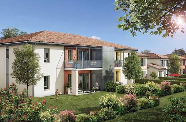 Appartements neufs Le Pré Amaryllis Pechbonnieu