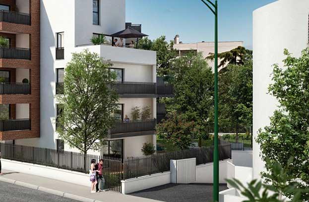 Appartements neufs Plaza Garonne Toulouse