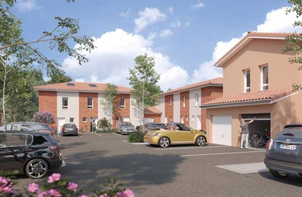 Programme Neuf Les Villas Bleuet Saint Orens