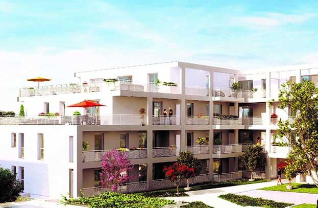 Appartement neuf Le Domaine d'Opale Blagnac