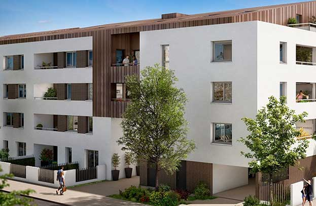 Appartement neuf Le Greengarden Toulouse