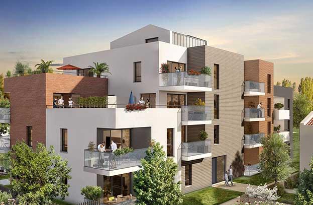 Appartements neufs Coté Golf Toulouse