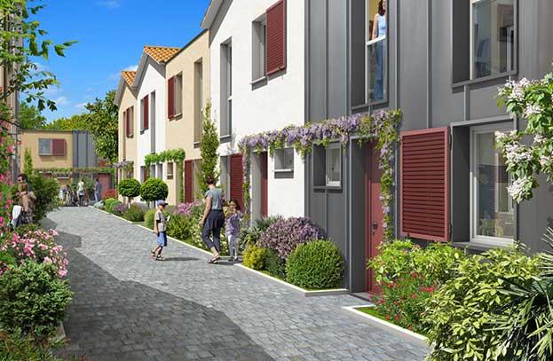 Appartements neufs Cour Saint Pierre Toulouse