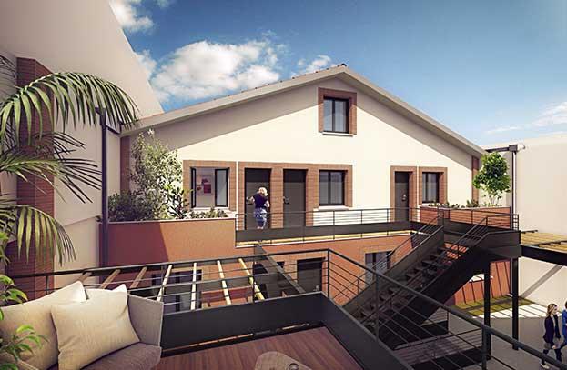 Appartements neufs Le Conti Toulouse