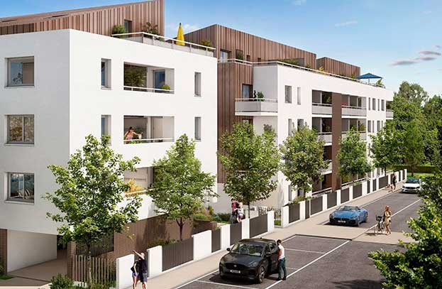 Appartements neufs Le Greengarden Toulouse
