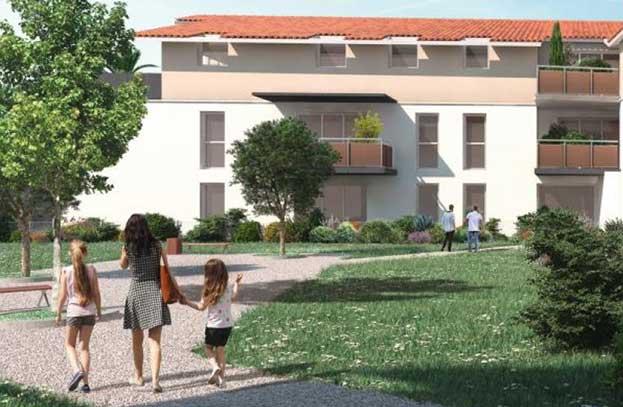 Appartements neufs Newcastel Castelginest