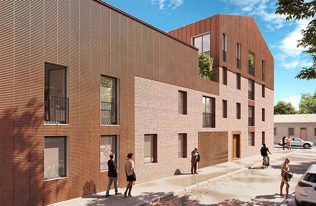 Appartements Neufs Ecrin des Minimes Toulouse